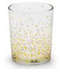 Chumbak Golden Polka Shot Glass 40 ML Rock Glass