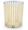 Chumbak Golden Stripes Shot Glass 40 ML Rock Glass