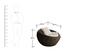 Circular Sofa Set (3S + 2S + CT) by GEBE