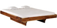Omaha King Size Bed in Natural Finish by Woodsworth