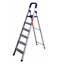 Cipla Plast Home Pro PPCP & Aluminium 6 Steps 6.6 FT Folding Ladder