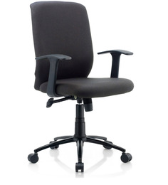 City Ergonomic Chair in Black Colour by Oblique