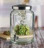 Circleware Valencia Glass 10.4 L Dispenser with Chalkboard
