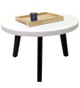 Circolare Coffee Table in Dark Brown Wood Polish by DesignBar