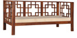 Richey Three Seater Sofa in Provincial Teak Finish by Woodsworth