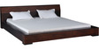 Clio King Size Bed in Dual Tone Finish by Woodsworth