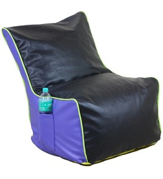Classic Style Lounger Cover in Blue N Black Colour by Orka