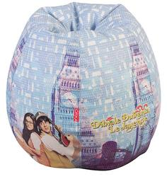 DDLJ Theme Bean Bag Cover in Multi Colour by Orka