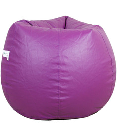 Classic Style Bean Bag Cover in Purple Colour by Orka