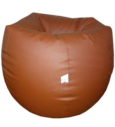 Classic Style Bean Bag Cover In Tan Colour By Orka