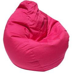 Classic Style Bean Bag Cover in Pink Colour by Sattva