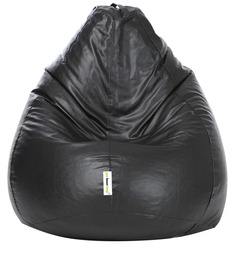 Classic XL Bean Bag Cover without Beans in Black Colour by Can