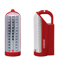 Clearline Red Rechargeable LED Emergency Light