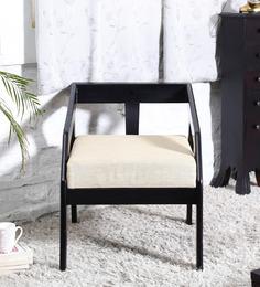 Clio Arm Chair in Espresso Walnut Finish by Woodsworth