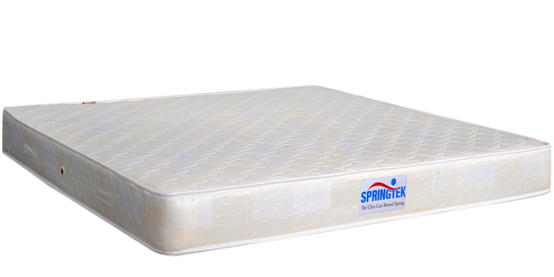 5 Inches Thick Single Size Ultra Care Bonnel Spring Mattress by Springtek