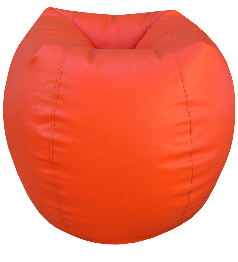 Classic Style Bean Bag Cover in Orange Colour by Orka