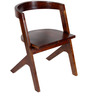 Mosby Solid Wood Chair In Honey Oak Finish by Woodsworth