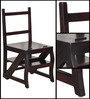 Detroit Ladder Chair in Passion Mahogany Finish by Woodsworth