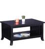 Amarillo Coffee & Centre Table in Espresso Walnut Finish by Woodsworth