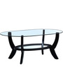 Hudson Coffee Table in Espresso Walnut Finish by Amberville
