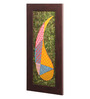 Clasicraft Multicolour Canvas 6.5 x 0.8 x 18 Inch Paisley Framed Wall Art Painting