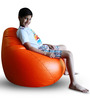 Classic Bean Bag (Cover Only) XL size in Orange Colour  by Style Homez