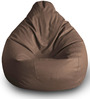 Classic Bean Bag (Cover Only) XXL size in Brown Colour by Style Homez