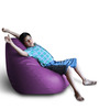 Classic Bean Bag (Cover Only) XXL size in Purple Colour  by Style Homez