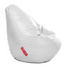 Classic Bean Bag (Cover Only) XXXL size in Elegant White Colour  by Style Homez