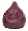 Classic Bean Bag (Cover Only) XXXL size in Maroon Colour by Style Homez
