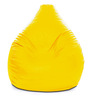 Classic Bean Bag (Cover Only) XXXL size in Yellow Colour  by Style Homez