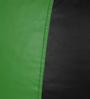 Classic Bean Bag Cover without Beans in Black and Neon Green Colour by Sattva