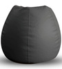 Classic Bean Bag XXL size in Grey Colour with Beans by Style Homez