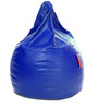Classic Bean Bag XXXL size in Royal Blue Colour with Beans by Style Homez