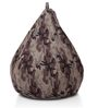 Classic Cotton Canvas Camouflage Design Bean Bag XL Size Cover by Style Homez