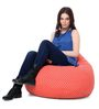 Classic Cotton Canvas Star Design Bean Bag XL Size Cover Only by Style Homez