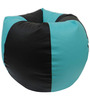 Classic Style Bean Bag Cover in Teel Black Colour by Orka