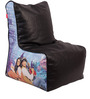 DDLJ Theme Filled Bean Bag Chair in Multi Colour by Orka