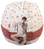 Mohabbatein Theme Filled Bean Bag in Multi Colour by Orka