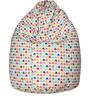 Classic Bean Bag Cover without Beans with Little Hearts Design by Sattva