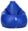 Classic XL Bean Bag Filled with Beans in Blue Colour by Can