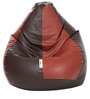 Classic XL Bean Bag Filled with Beans in Brown Tan Colour by Can