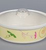 Machi Spring Fling Melamine 2 L Round Casserole with Clear Lid