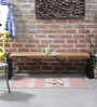 Odin Bench in Light Brown Finish by Bohemiana