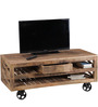 Morila Entertainment Unit in Natural Finish by Bohemiana