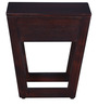 Trenton Bed Side Table in Provincial Teak Finish by Woodsworth