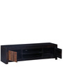 Clio Entertainment Unit in Dual Tone Finish by Woodsworth