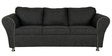 Compact Three Seater Sofa in Grey Colour by Parin