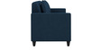 Cooper Three Seater Sofa in Royal Blue Colour by ARRA