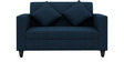 Cooper Two Seater Sofa in Royal Blue Colour by ARRA
